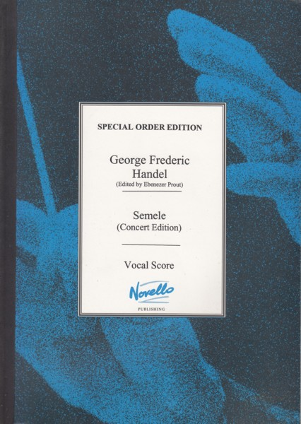 Image for Semele (Concert Edition) - Vocal Score