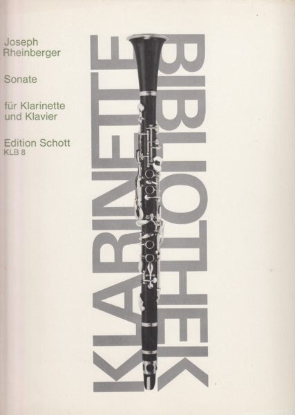 Sonata for Clarinet and Piano, Op.105a