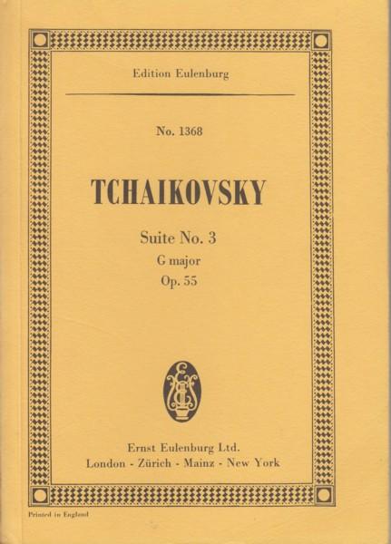 Suite No.3 in G major, Op.55 - Study Score