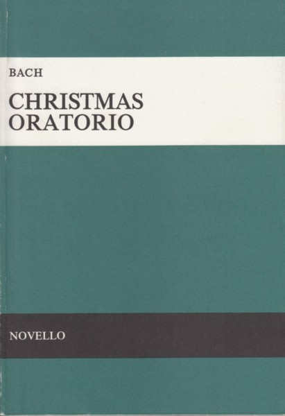 Image for Christmas Oratorio  - Vocal Score