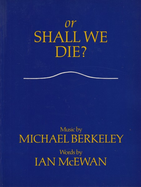Image for Or Shall We Die? - Vocal Score