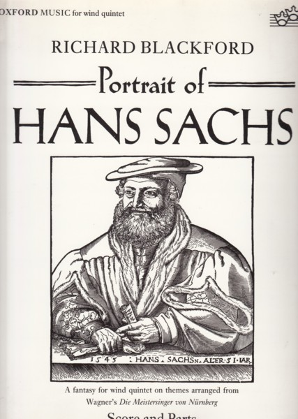 Image for Portrait of Hans Sachs for Wind Quintet - Score & Parts