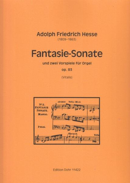 Image for Fantasy Sonata and Two Preludes for Organ, Op.83