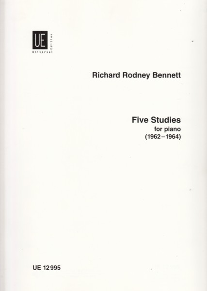 Image for Five Studies for Piano (1962 - 1964)
