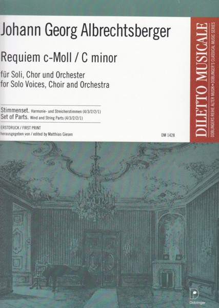Image for Requiem in c minor for Solo Voices, Choir & Orchestra - Set of Parts