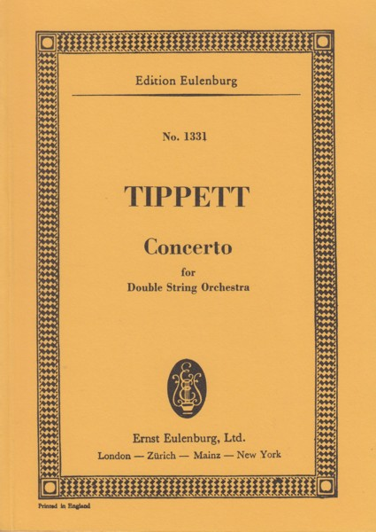 Image for Concerto for Double String Orchestra - Study Score