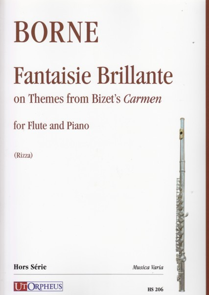 Image for Fantaisie Brillante on Themes from Bizet's Carmen - Flute & Piano