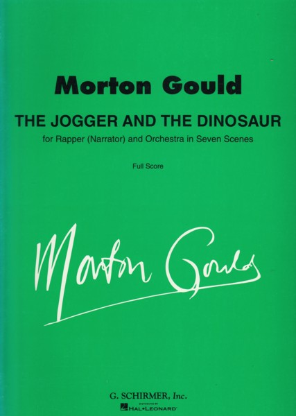 Image for The Jogger and the Dinosaur - Full Score