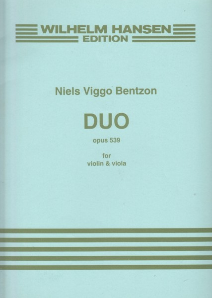 Image for Duo for Violin & Viola, Op.539
