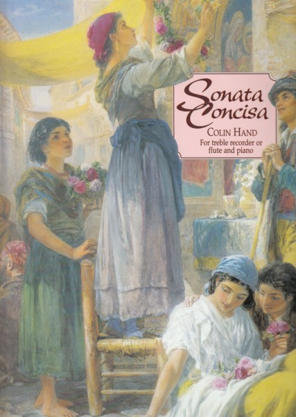 Image for Sonata Concisa for Treble Recorder or Flute & Piano