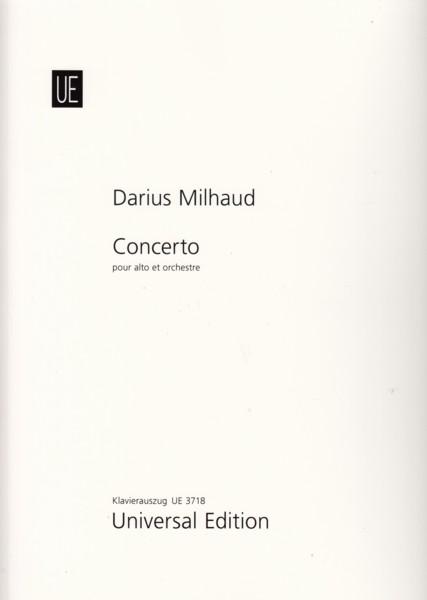 Concerto for Viola and Orchestra, Op.108 - Viola & Piano