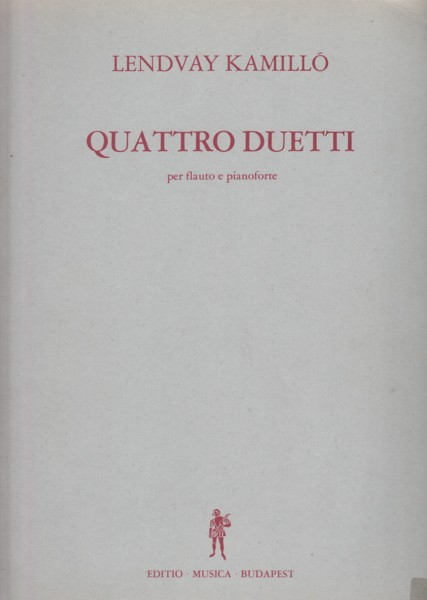 Image for Quattro Duetti for Flute and Piano