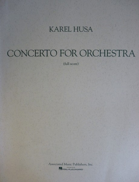 Concerto for Orchestra - Full Score
