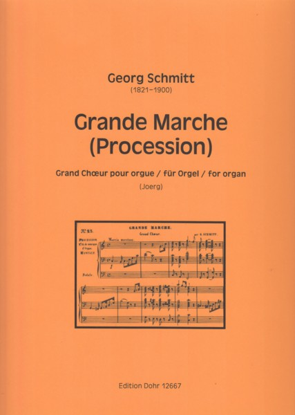 Image for Grande Marche (Procession) in C major - Grand Choeur pour Orgue