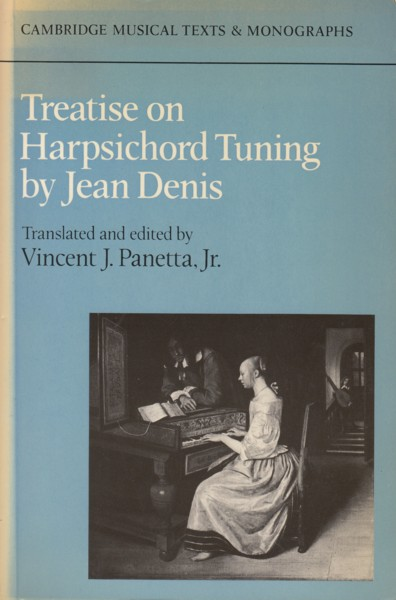 Image for Treatise on Harpsichord Tuning