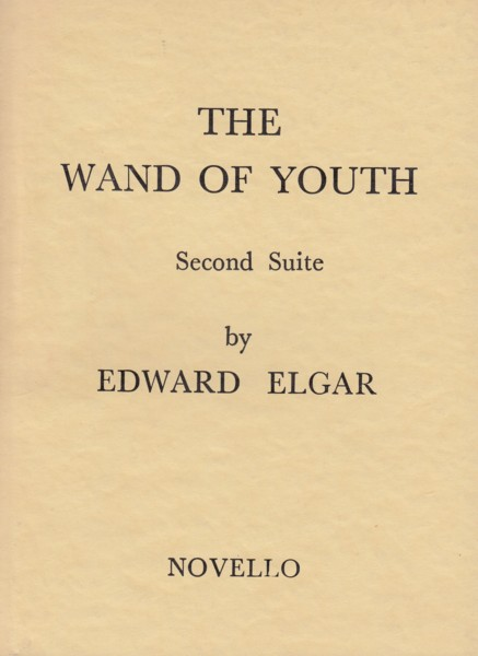 Image for The Wand of Youth, Second Suite Op.1b - Study Score