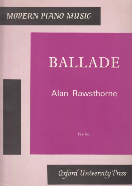 Image for Ballade for Piano