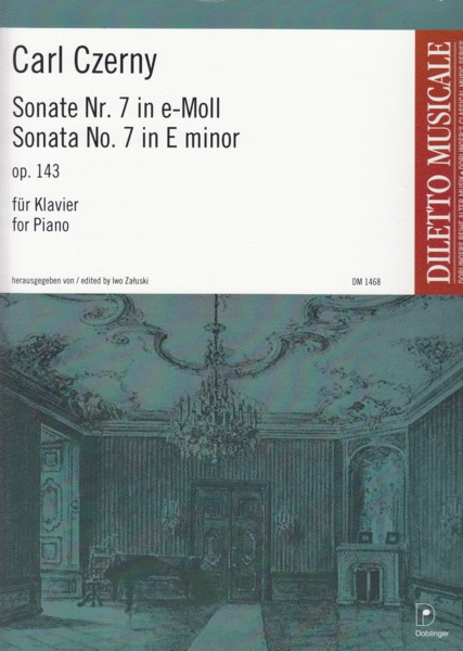 Image for Piano Sonata No.7 in e minor, Op.143