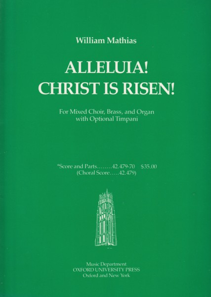 Image for Alleluia! Christ is Risen! - Full Score & Set of Parts