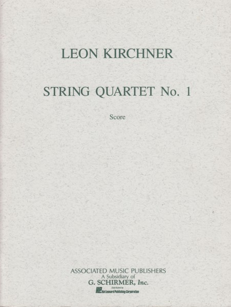 Image for String Quartet No.1 (1949) - Full Score