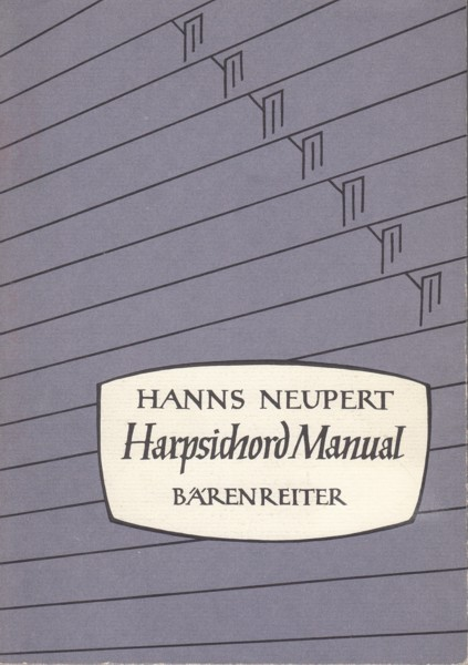 Image for Harpsichord Manual ~ A Historical and Technical Discussion