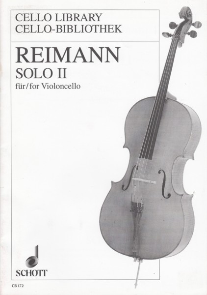 Image for Solo II for Cello