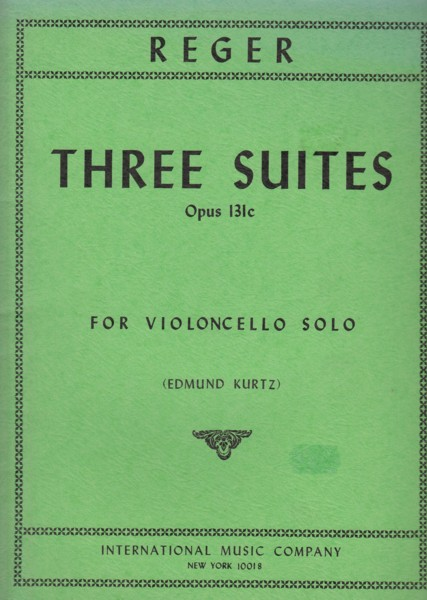 Image for Three Suites for Cello Solo, Op.131c