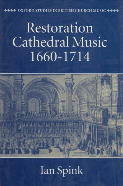 Image for Restoration Cathedral Music 1660 - 1714