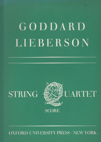 Image for String Quartet - Full Score & Set of Parts