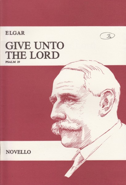 Image for Give Unto the Lord, Psalm 29, Op.74 - Vocal Score