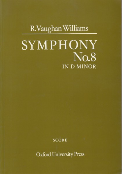 Image for Symphony No.8 in d minor - Study Score
