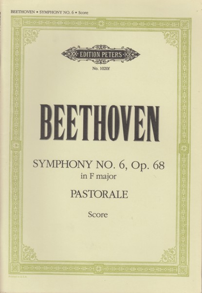 "Image for Symphony No.6 in F major, Op.68 ""Pastorale"" - Study Score"