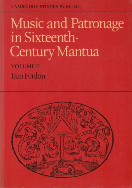 Image for Music and Patronage in Sixteenth-Century Mantua, Volume II