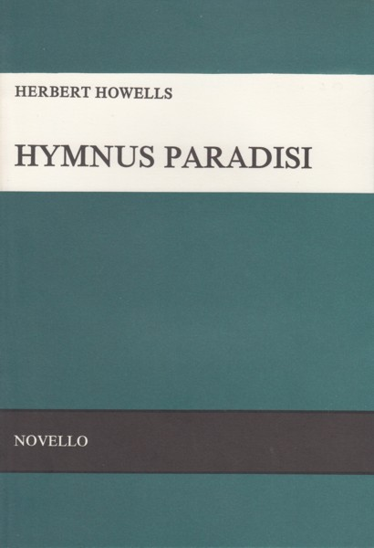 Image for Hymnus Paradisi - Vocal Score