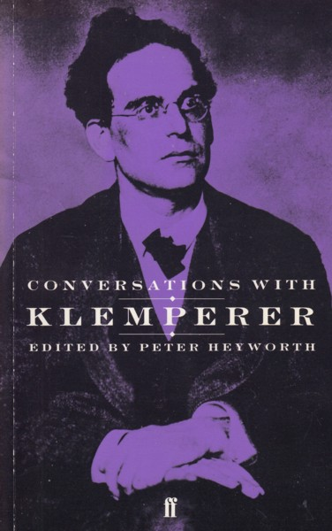 Image for Conversations with Klemperer