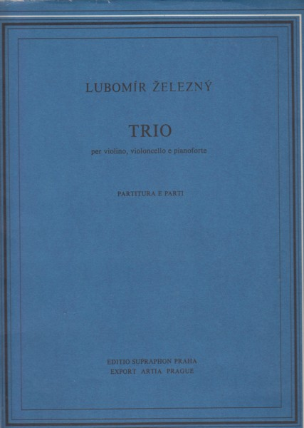 Image for Piano Trio (1966) - Score & Parts