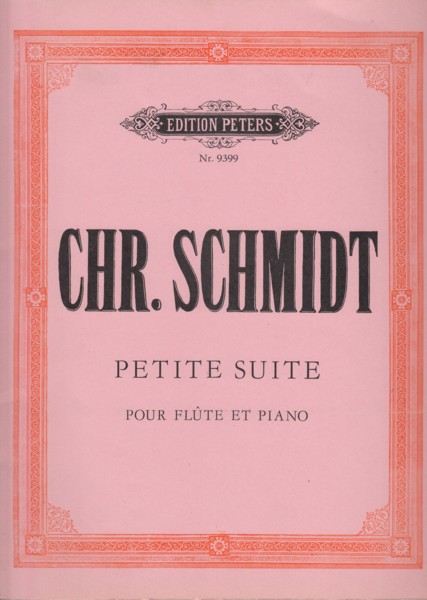 Image for Petite Suite for Flute and Piano