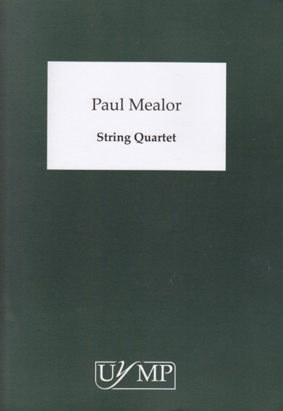 Image for String Quartet (2001-2) - Score & Parts