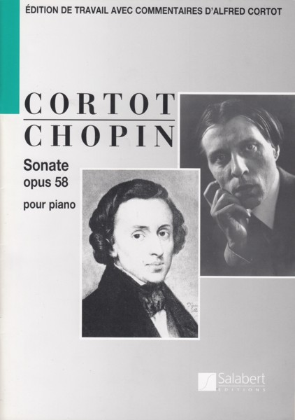 Image for Piano Sonata No.3 in b minor, Op.58 (ed.Cortot)