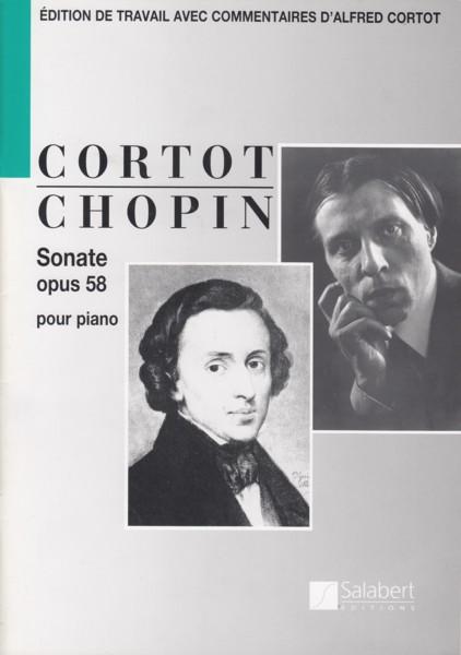 Piano Sonata No.3 in b minor, Op.58 (ed.Cortot)