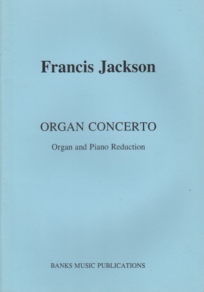Image for Organ Concerto - Organ & Piano Reduction