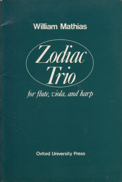 Image for Zodiac Trio for Flute, Viola & Harp - Study Score