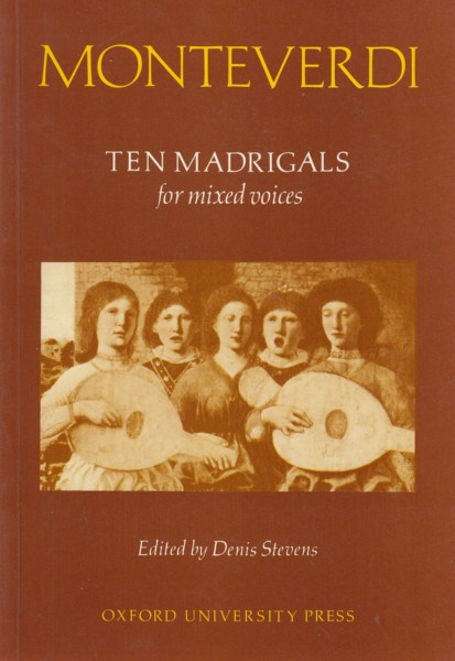 Image for Ten Madrigals for Mixed Voices (ed. Denis Stevens)