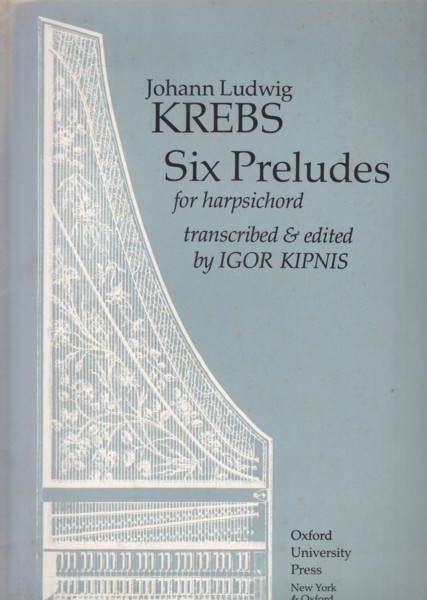 Image for Six Preludes for Harpsichord