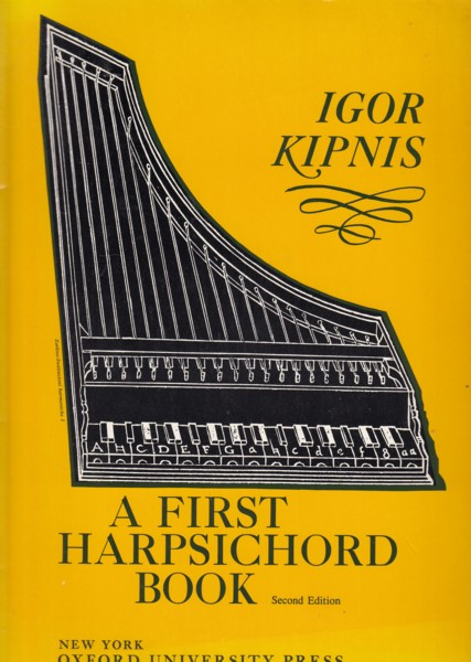 Image for A First Harpsichord Book