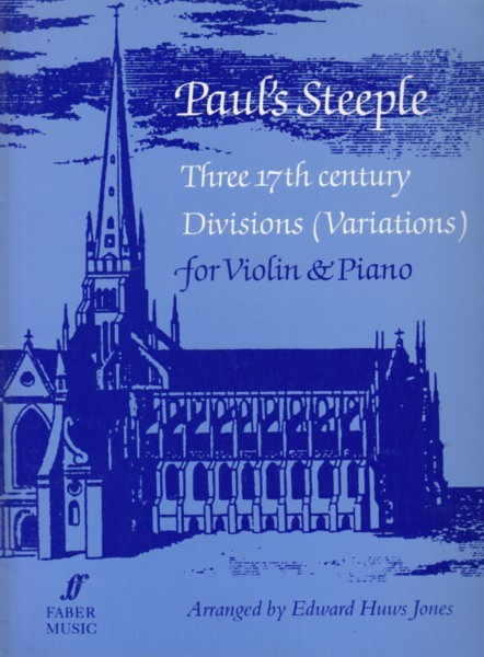 Image for Paul's Steeple - Three 17th century Divisions (Variations) for Violin & Piano