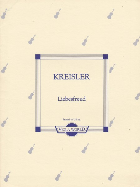Image for Liebesfreud - Viola & Piano
