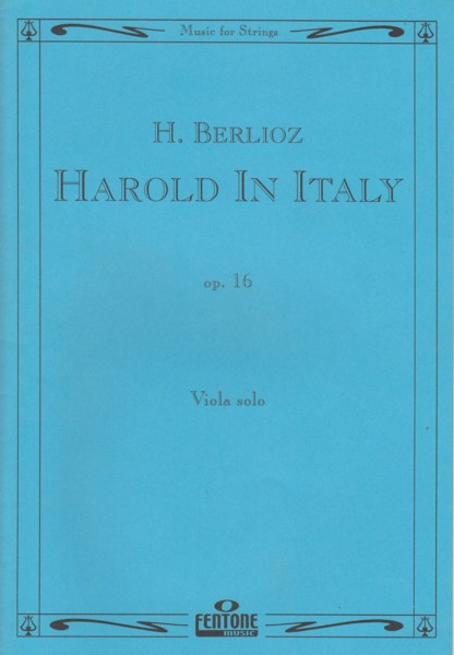 Image for Harold in Italy, Op.16 - Viola Solo