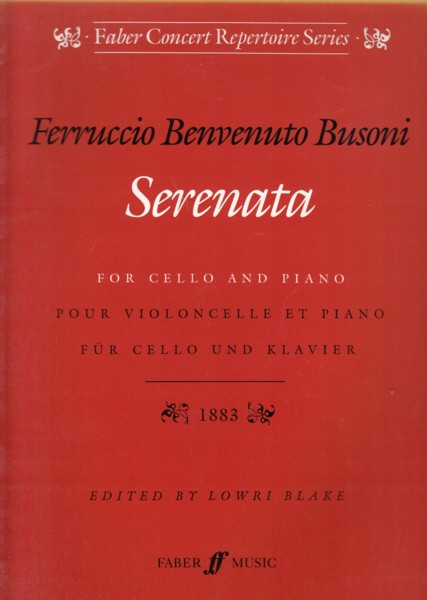 Image for Serenata for Cello & Piano, Op.34