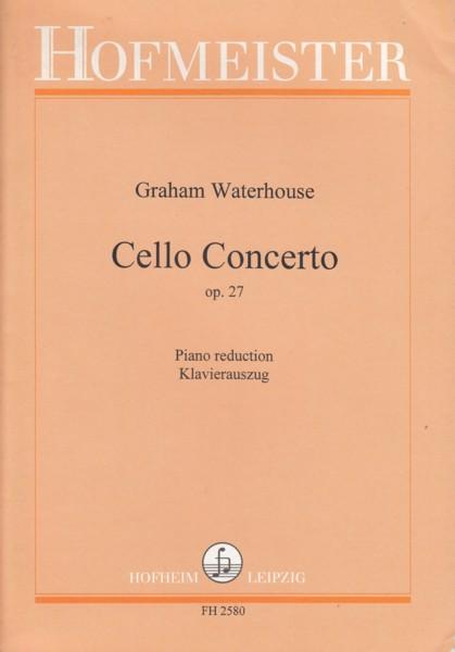 Cello Concerto, Op.27 - Cello & Piano